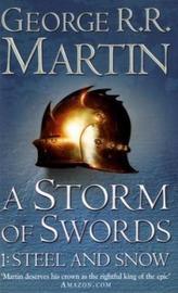 A Storm of Swords. Sturm der Schwerter, englische Ausgabe. Tl.1