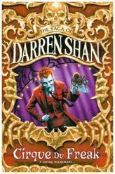 Cirque du Freak, English edition. Darren Shan und der Mitternachtszirkus, englische Ausgabe