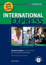 Intermediate, Student's Book w. Pocket Book, MultiROM and DVD-ROM