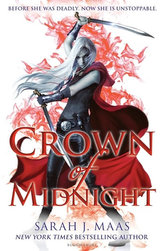 Crown of Midnight. Throne of Glass - Kriegerin im Schatten, englische Ausgabe