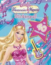 Barbie, Die Prinzessin und der Popstar, Stickerspaß
