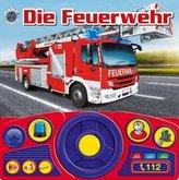 Die Feuerwehr, m. Lenkrad u. Tonmodulen