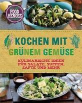 Kochen mit grünem Gemüse