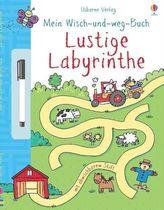 Mein Wisch-und-weg-Buch: Lustige Labyrinthe, m. abwischbarem Stift