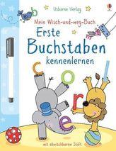 Mein Wisch-und-weg-Buch: Erste Buchstaben kennenlernen