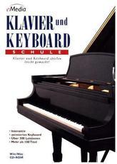 eMedia Klavier und Keyboard Schule, 1 CD-ROM. Bd.1
