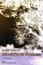 Tiefe Schatten des Olivenbaums