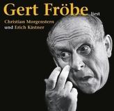Gert Fröbe liest Christian Morgenstern und Erich Kästner, 2 Audio-CDs
