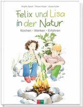 Felix und Lisa in der Natur