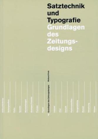Grundlagen des Zeitungs- und Zeitschriftendesigns, in 2 Bdn.