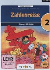 Zahlenreise, 2. Klasse / Mathematik, 1 Übungs-CD-ROM (Neubearbeitung)