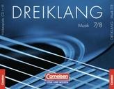 7./8. Schuljahr, Hörbeispiele, 6 Audio-CDs