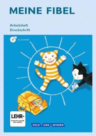 1. Schuljahr, Arbeitsheft Druckschrift, m. CD-ROM