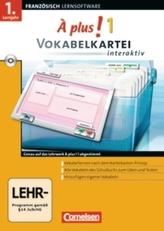 Vokabelkartei interaktiv, 1 CD-ROM