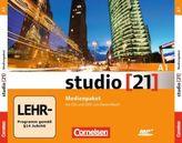 Medienpaket mit Audio-CDs und DVD zum Deutschbuch
