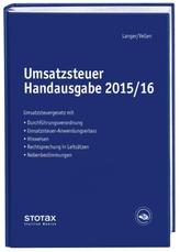 Umsatzsteuer Handausgabe 2015/2016