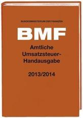 Amtliche Umsatzsteuer-Handausgabe 2013/2014