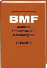 Amtliche Umsatzsteuer-Handausgabe 2014/2015