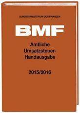 Amtliche Umsatzsteuer-Handausgabe 2015/2016