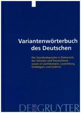 Variantenwörterbuch des Deutschen, 2 Bde.