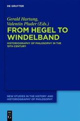 From Hegel to Windelband