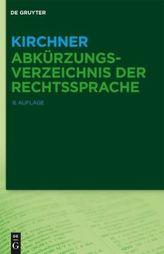 Abkürzungsverzeichnis der Rechtssprache