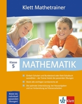 Klett Mathetrainer, 5. Klasse, 1 CD-ROM