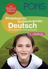 PONS Wörterbuch für Grundschulkinder Deutsch