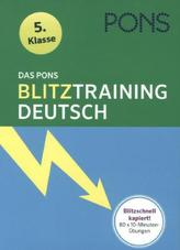 Das PONS Blitztraining - Deutsch 5. Klasse