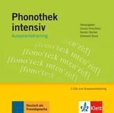 Phonothek intensiv, Aussprachetraining, 2 Audio-CDs