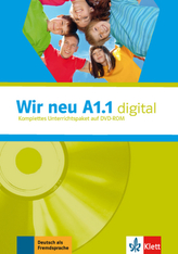 Wir neu A1.1 digital, 1 DVD-ROM