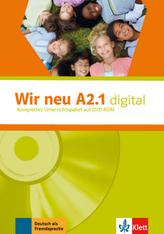 Wir neu A2.1 digital, 1 DVD-ROM