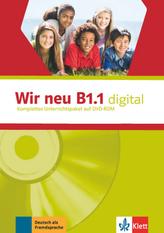 Wir neu B1.1 digital, 1 DVD-ROM