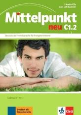 Lektion 7-12, 2 Audio-CDs zum Lehrbuchteil