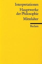 Hauptwerke der Philosophie, Mittelalter