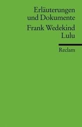 Frank Wedekind 'Lulu'