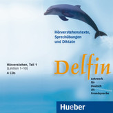 Hörverstehen, 4 Audio-CDs. Tl.1