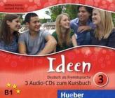 3 Audio-CDs zum Kursbuch