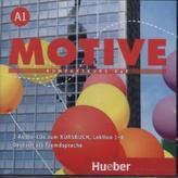 2 Audio-CDs zum Kursbuch, Lektion 1-8