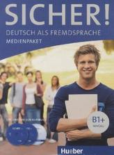 2 Audio-CDs und DVD zum Kursbuch
