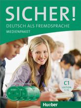 Medienpaket, 2 Audio-CDs und 2 DVDs zum Kursbuch
