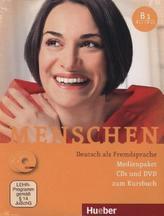 Medienpaket, 3 Audio-CDs + 1 DVD (zum Kursbuch)