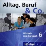 Hörtexte zum Kursbuch, 2 Audio-CDs