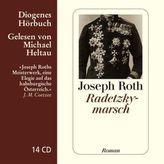 Radetzkymarsch, 14 Audio-CDs