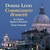 Zwei Fälle für Commissario Brunetti, 2 MP3-CDs