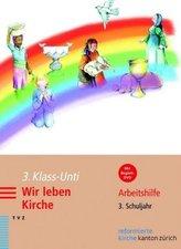 3. Klass-Unti. Wir leben Kirche, m. DVD