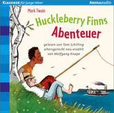 Huckleberry Finns Abenteuer, 1 Audio-CD