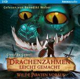 Drachenzähmen leicht gemacht - Wilde Piraten voraus!, Audio-CD