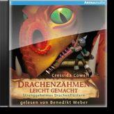 Drachenzähmen leicht gemacht - Strenggeheimes Drachenflüstern, 2 Audio-CDs