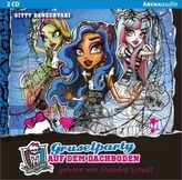 Monster High - Gruselparty auf dem Dachboden, 2 Audio-CDs